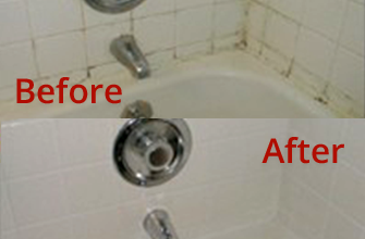 Before and After Tile Cleaning in Scottsdale, AZ
